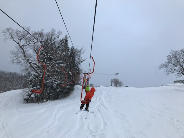 スキーキャンプ1日目・レッスン15