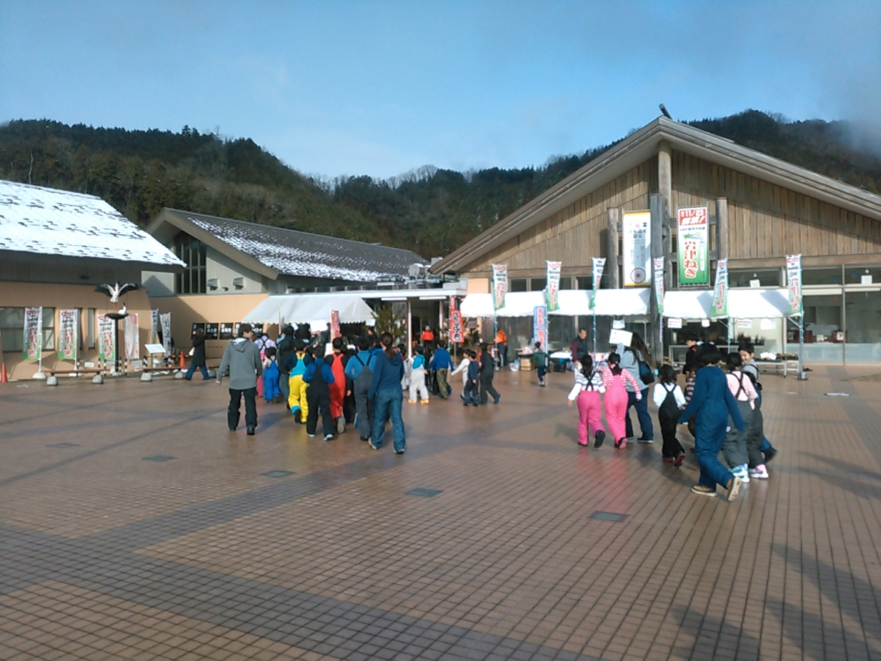 スキーキャンプ1日目・トイレ休憩2