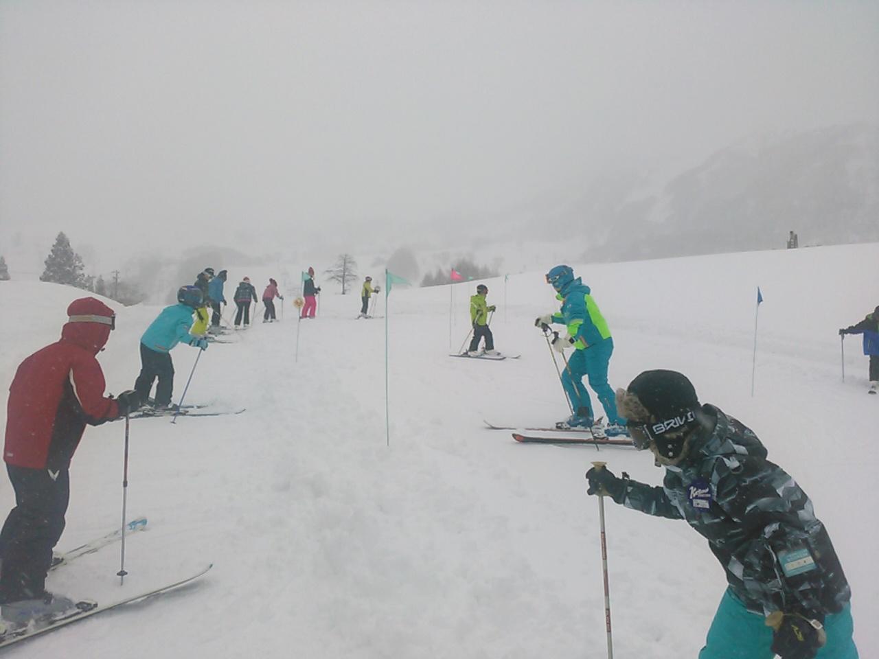 スキーキャンプ1日目・レッスン5