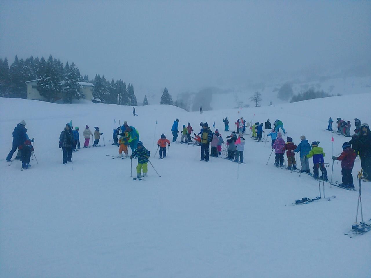 スキーキャンプ1日目・レッスン13