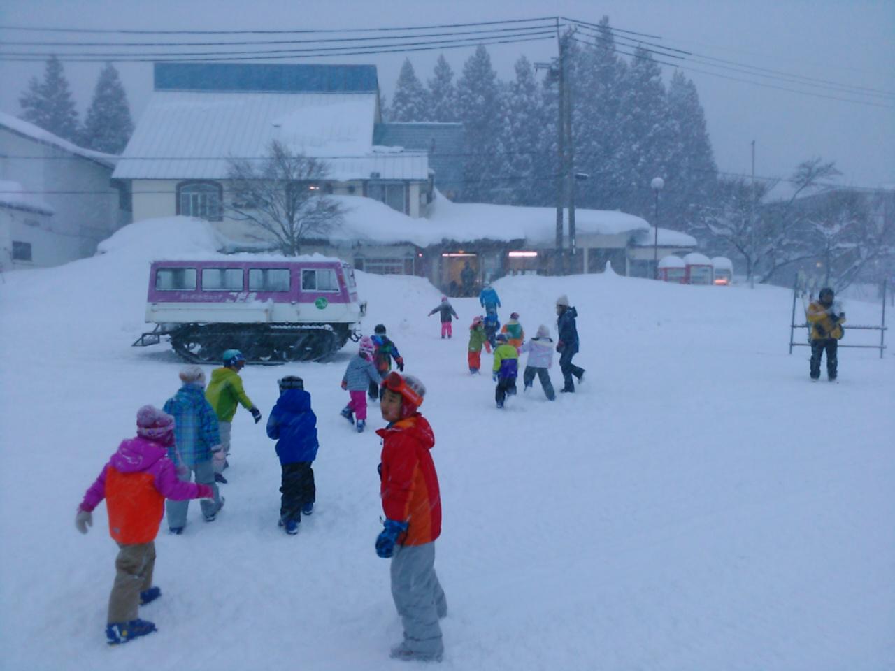 スキーキャンプ1日目・レッスン16