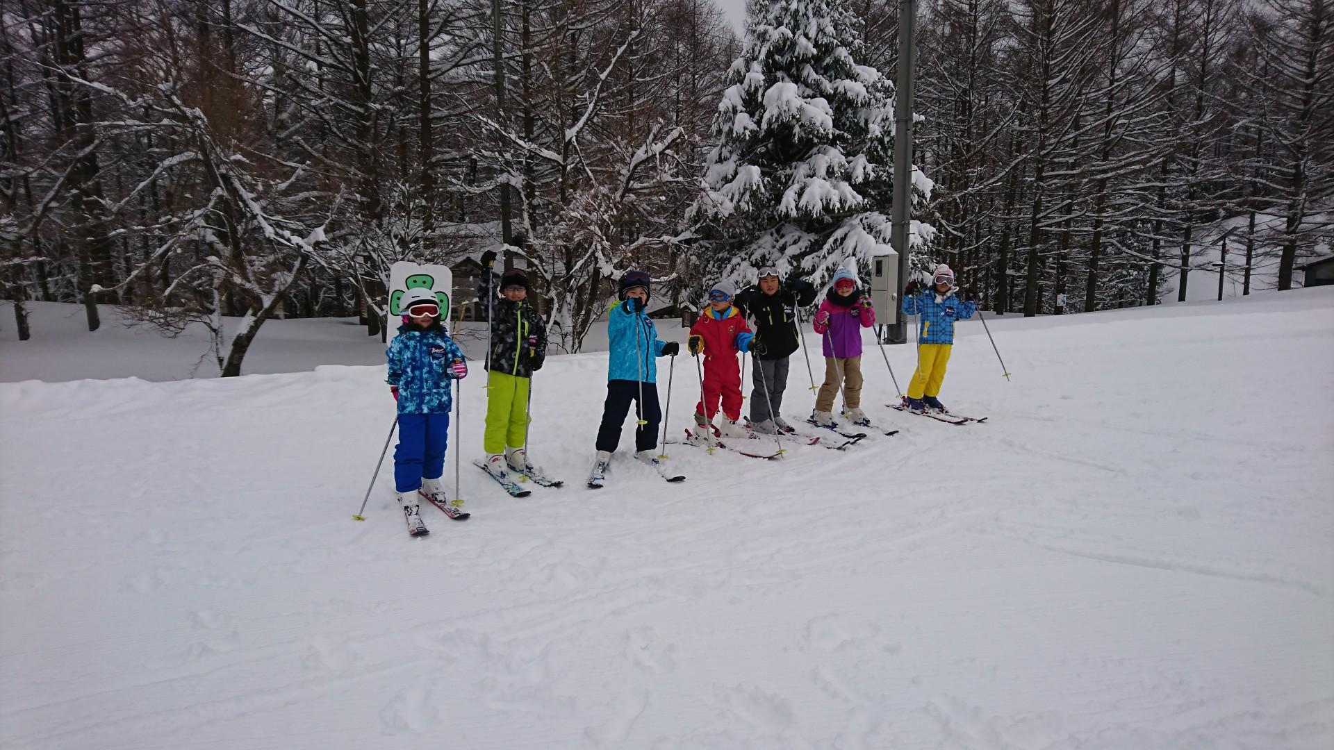 スキーキャンプ2日目・レッスン9