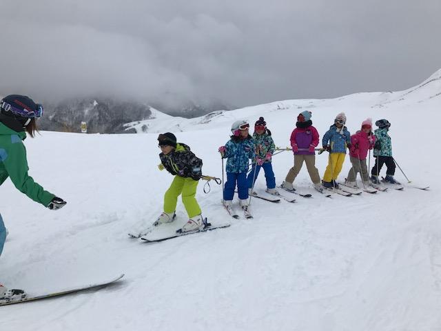 スキーキャンプ2日目・レッスン7