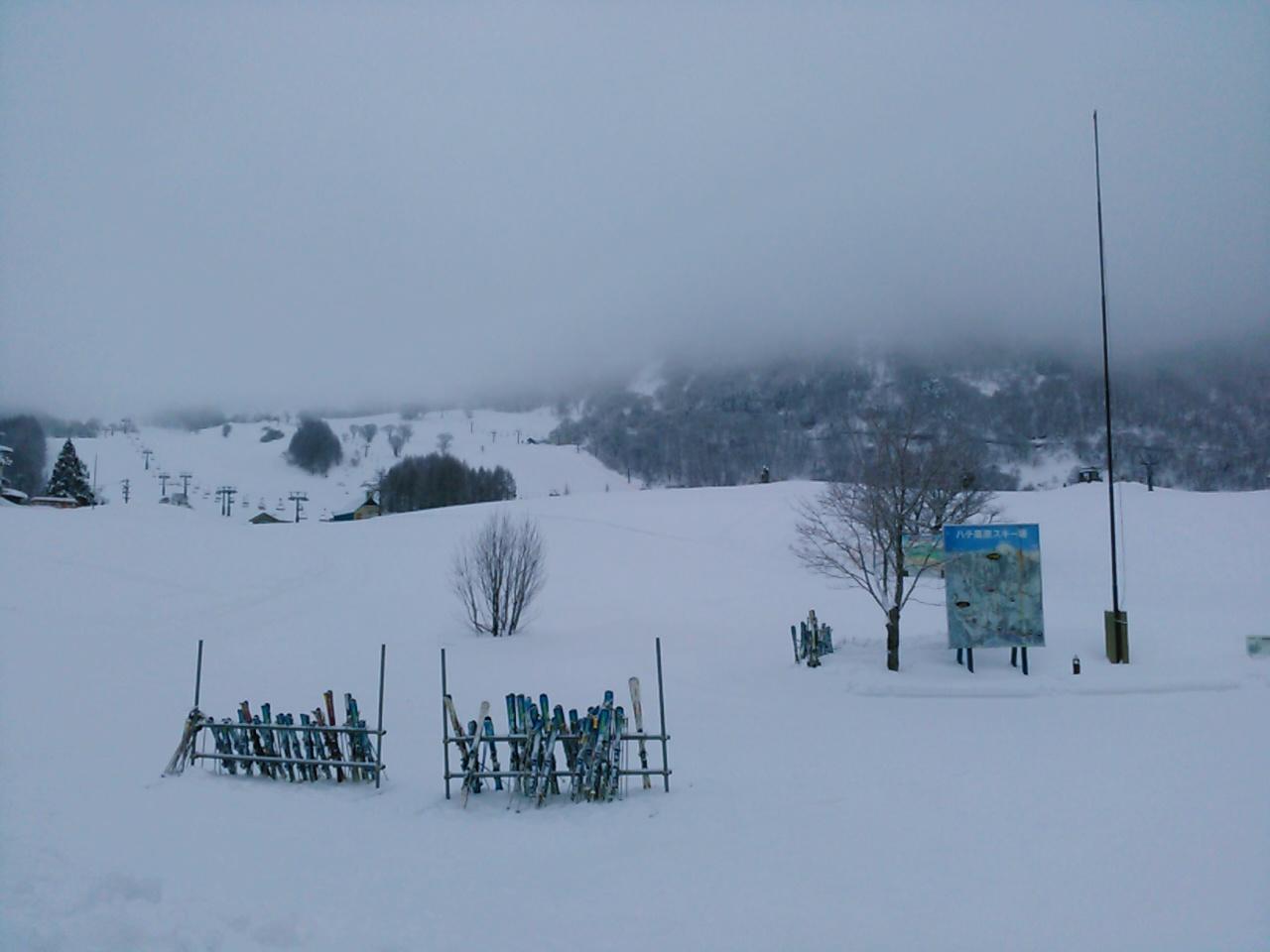 スキーキャンプ2日目・朝食