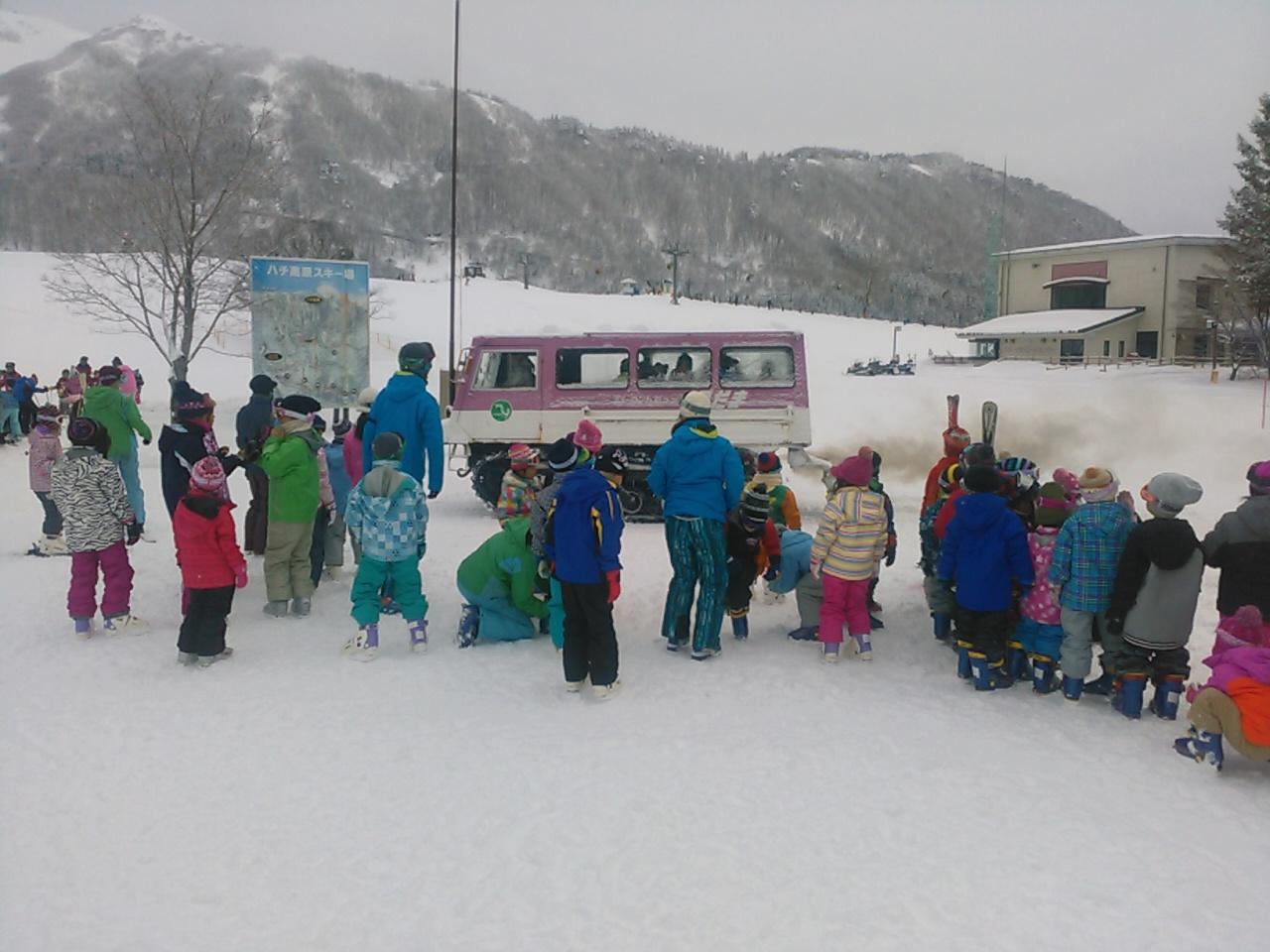 スキーキャンプ2日目・レッスン1