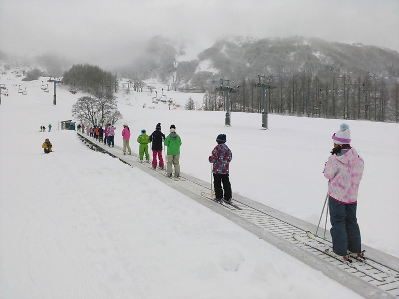 スキーキャンプ2日目・レッスン3