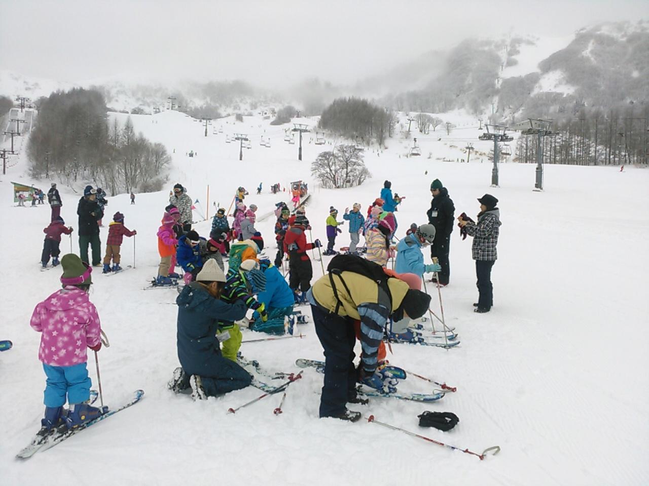 スキーキャンプ2日目・レッスン4