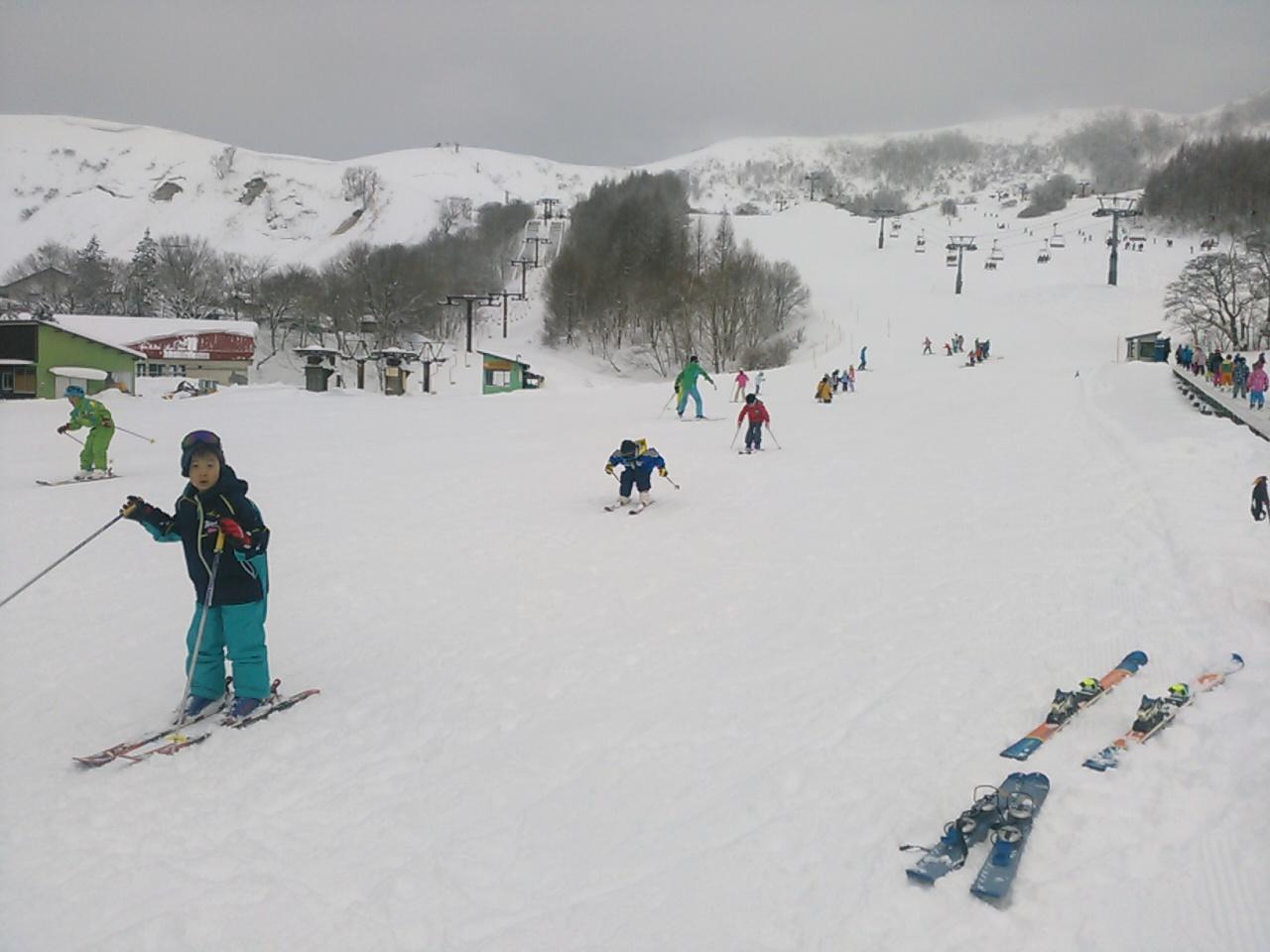 スキーキャンプ2日目・レッスン6