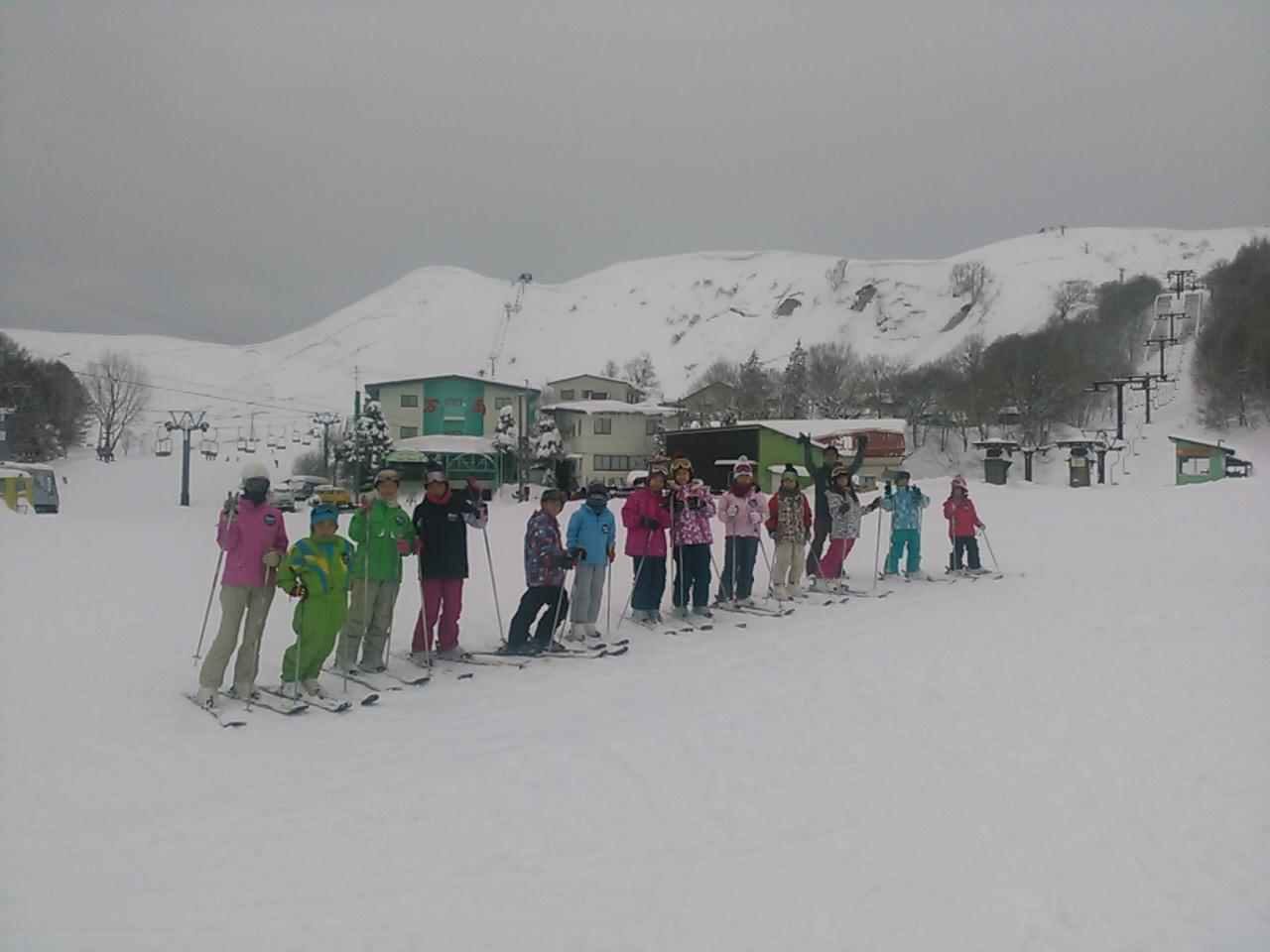 スキーキャンプ2日目・レッスン8
