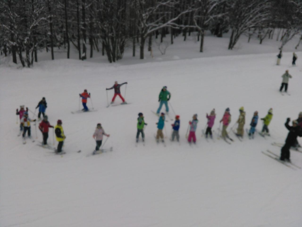 スキーキャンプ2日目・レッスン10