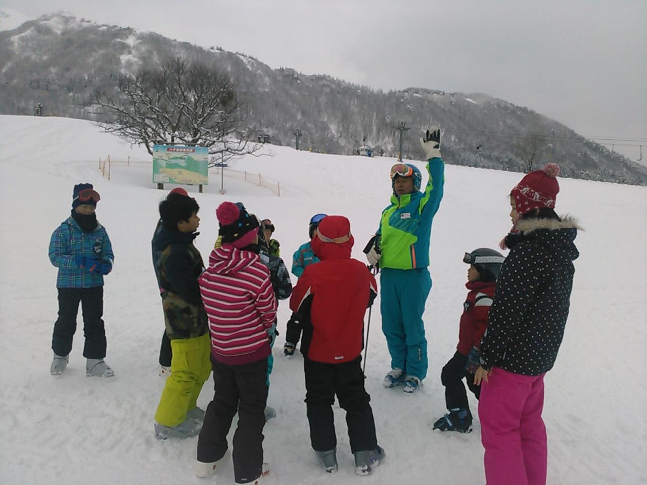 スキーキャンプ2日目・レッスン11