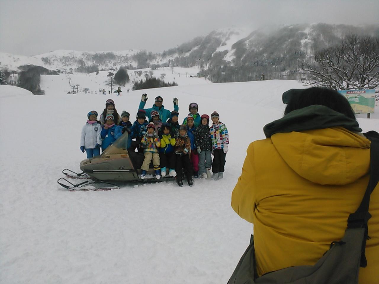 スキーキャンプ2日目・レッスン番外編
