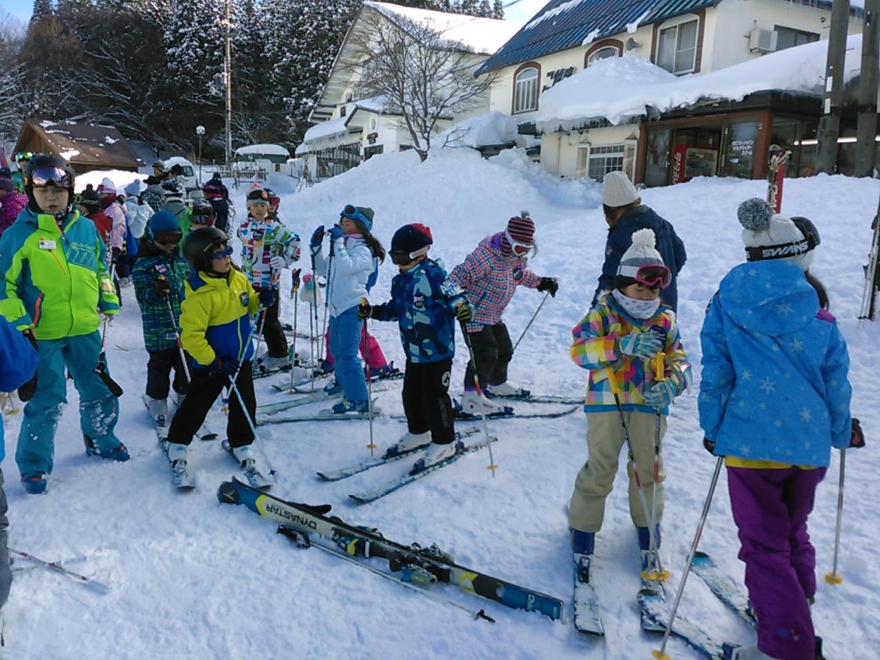スキーキャンプ2日目・午後レッスン1
