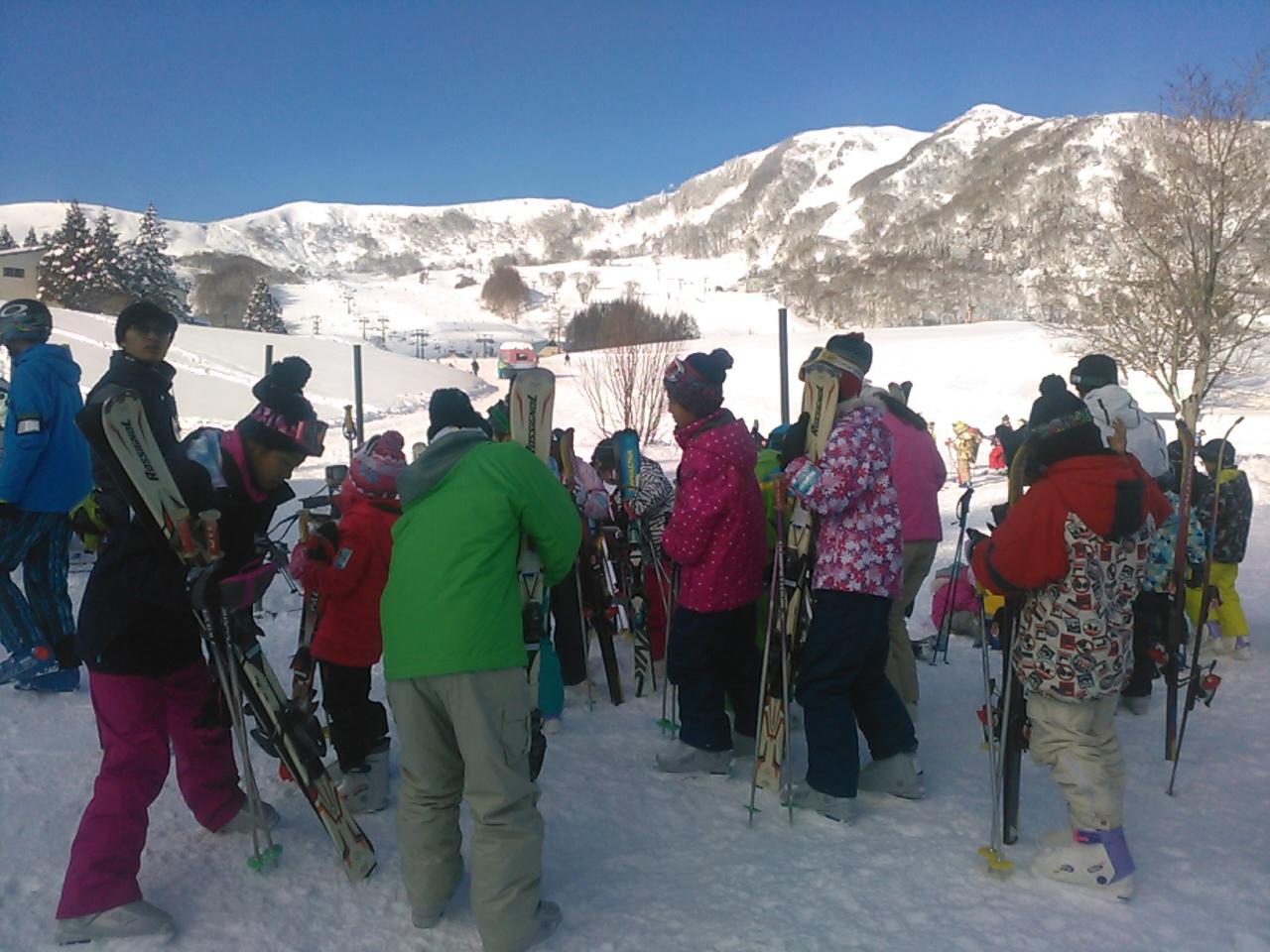 スキーキャンプ2日目・午後レッスン2