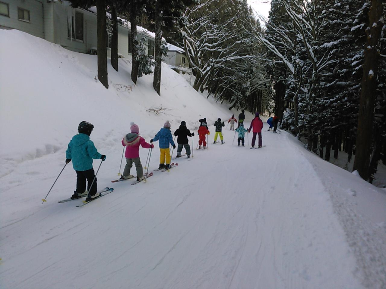 スキーキャンプ2日目・午後レッスン3