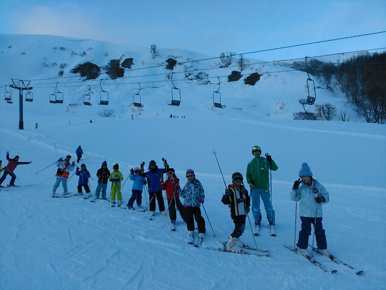 スキーキャンプ2日目・午後レッスン6
