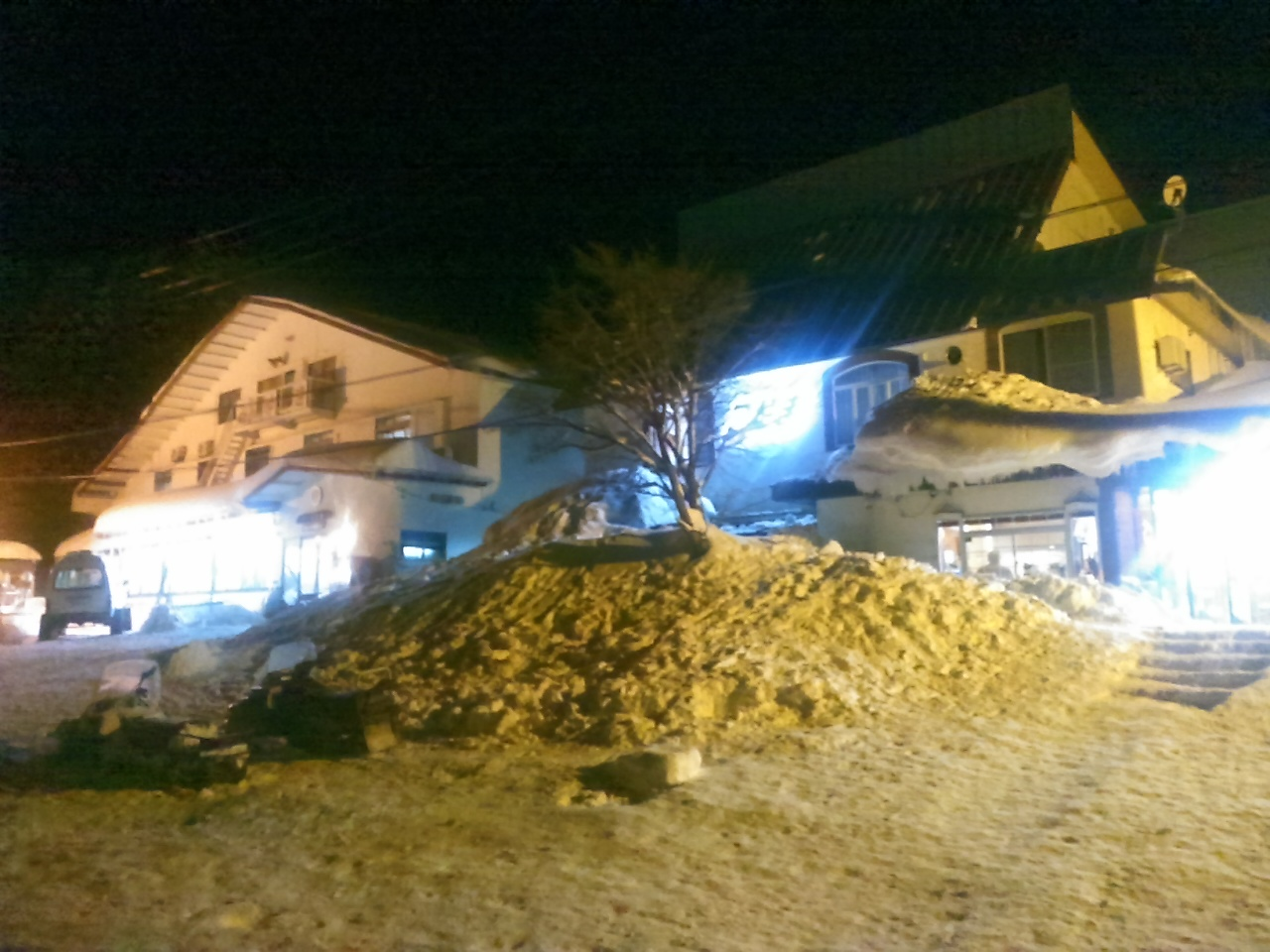 スキーキャンプ2日目・消灯