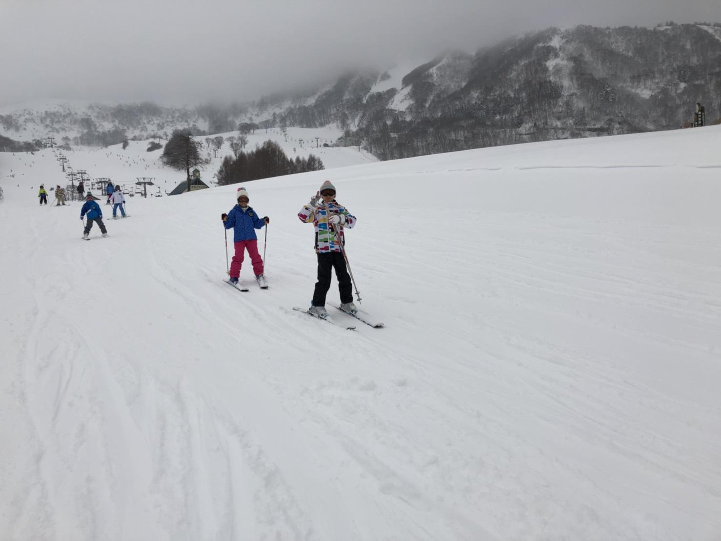 スキーキャンプ3日目・レッスン7
