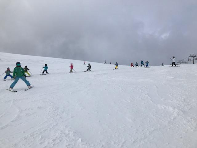 スキーキャンプ3日目・レッスン5