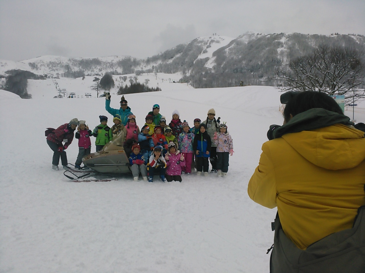 スキーキャンプ終了