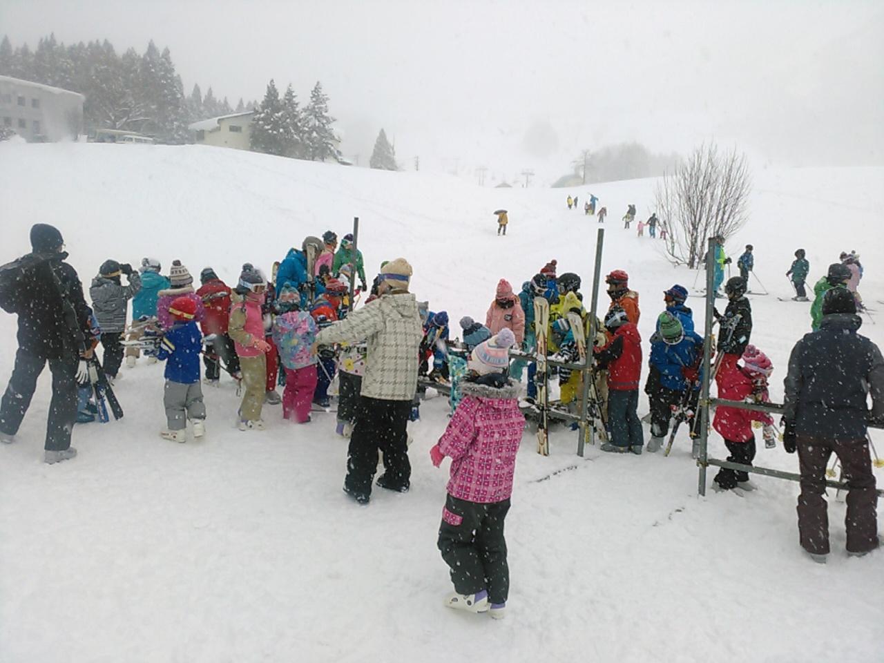 スキーキャンプ3日目・レッスン1