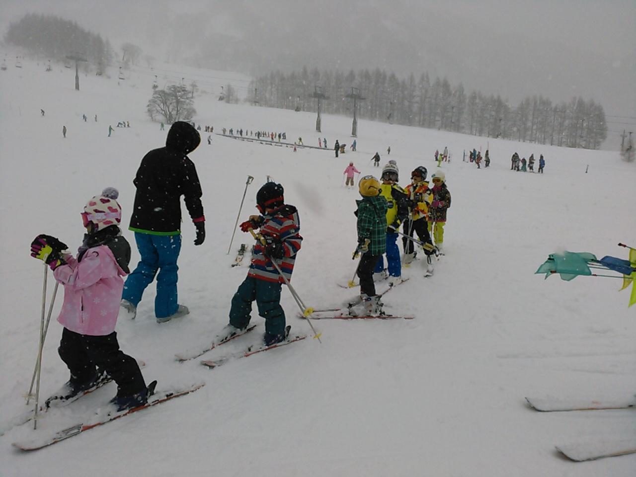 スキーキャンプ3日目・レッスン2