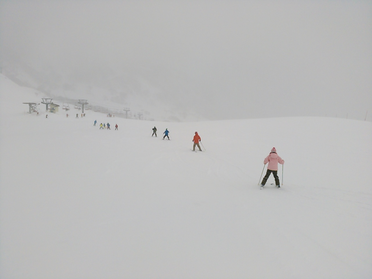 スキーキャンプ3日目・レッスン4