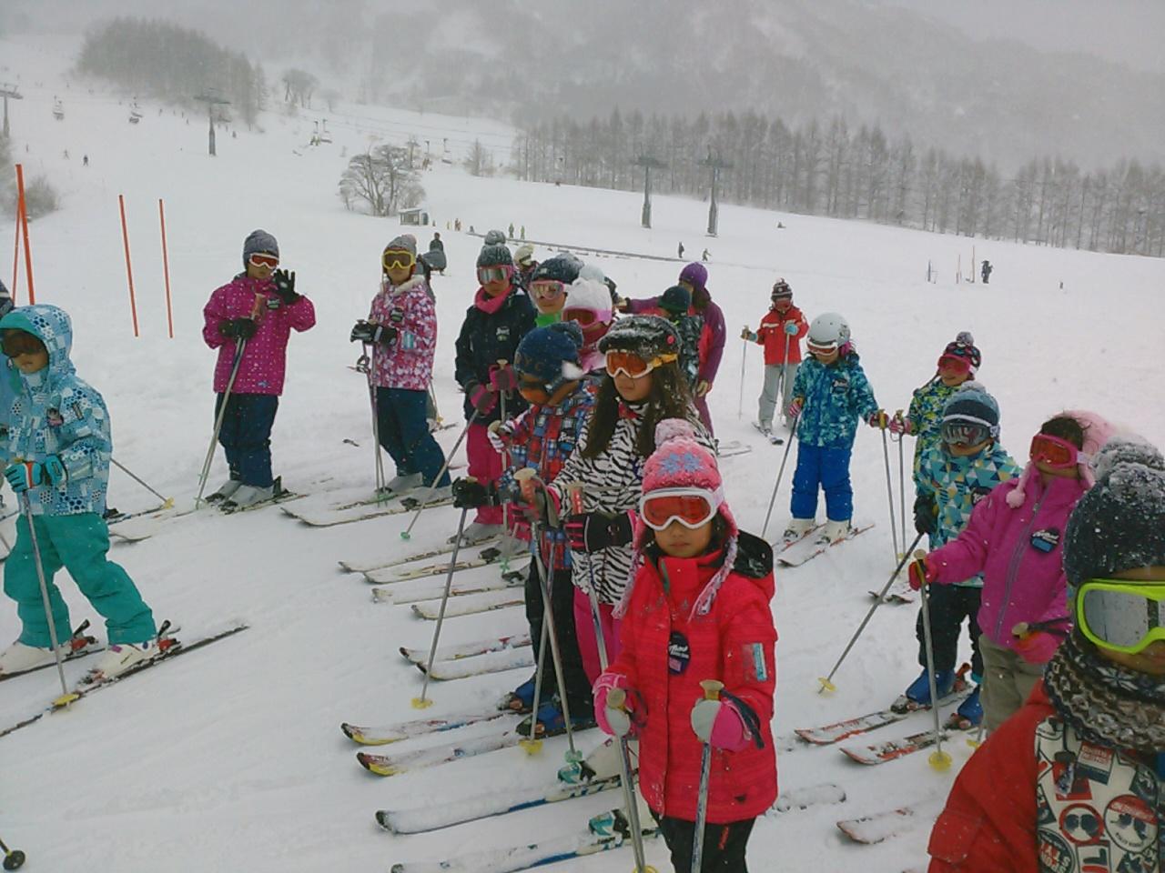 スキーキャンプ3日目・レッスン3