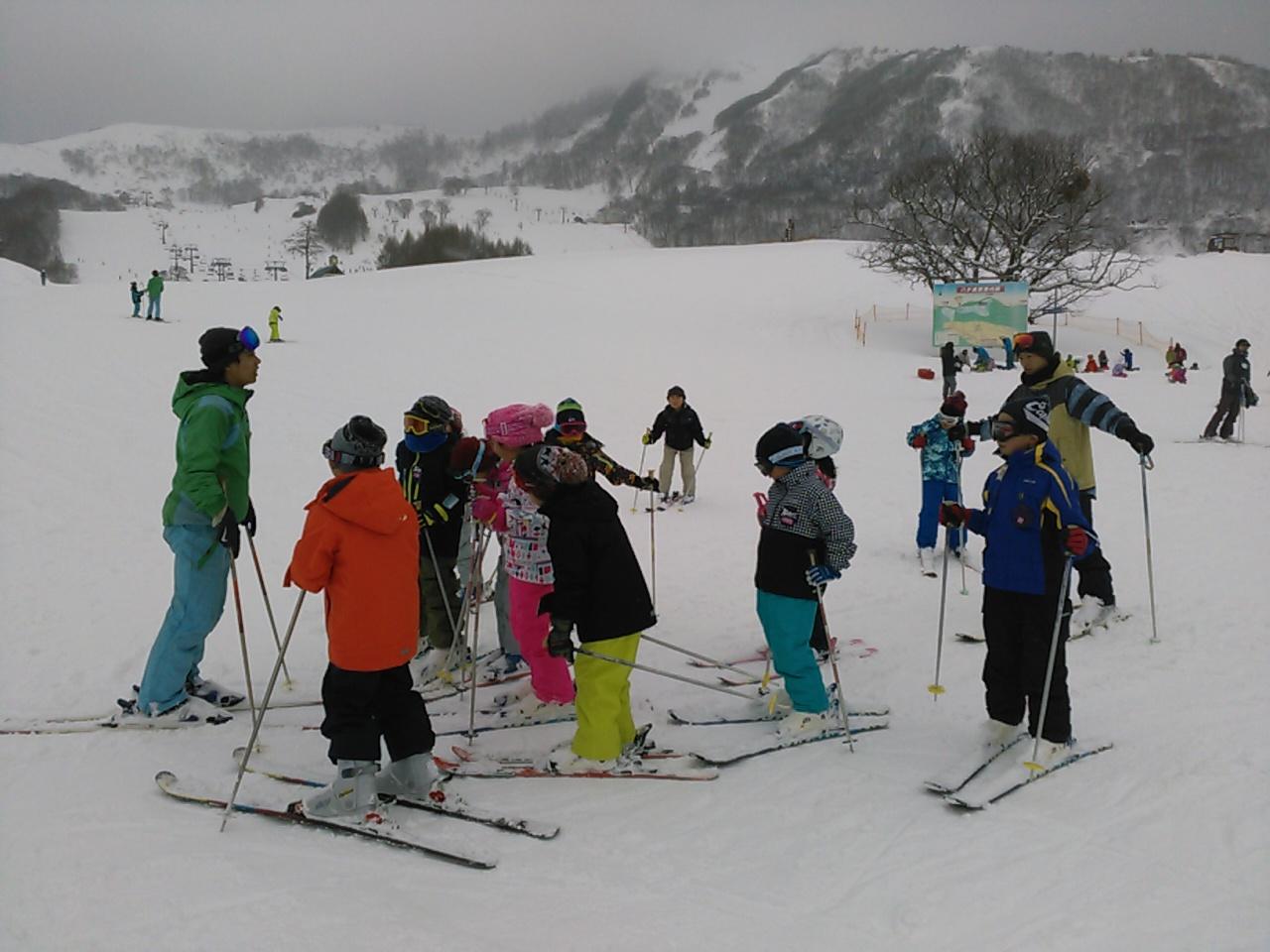 スキーキャンプ3日目・レッスン終了