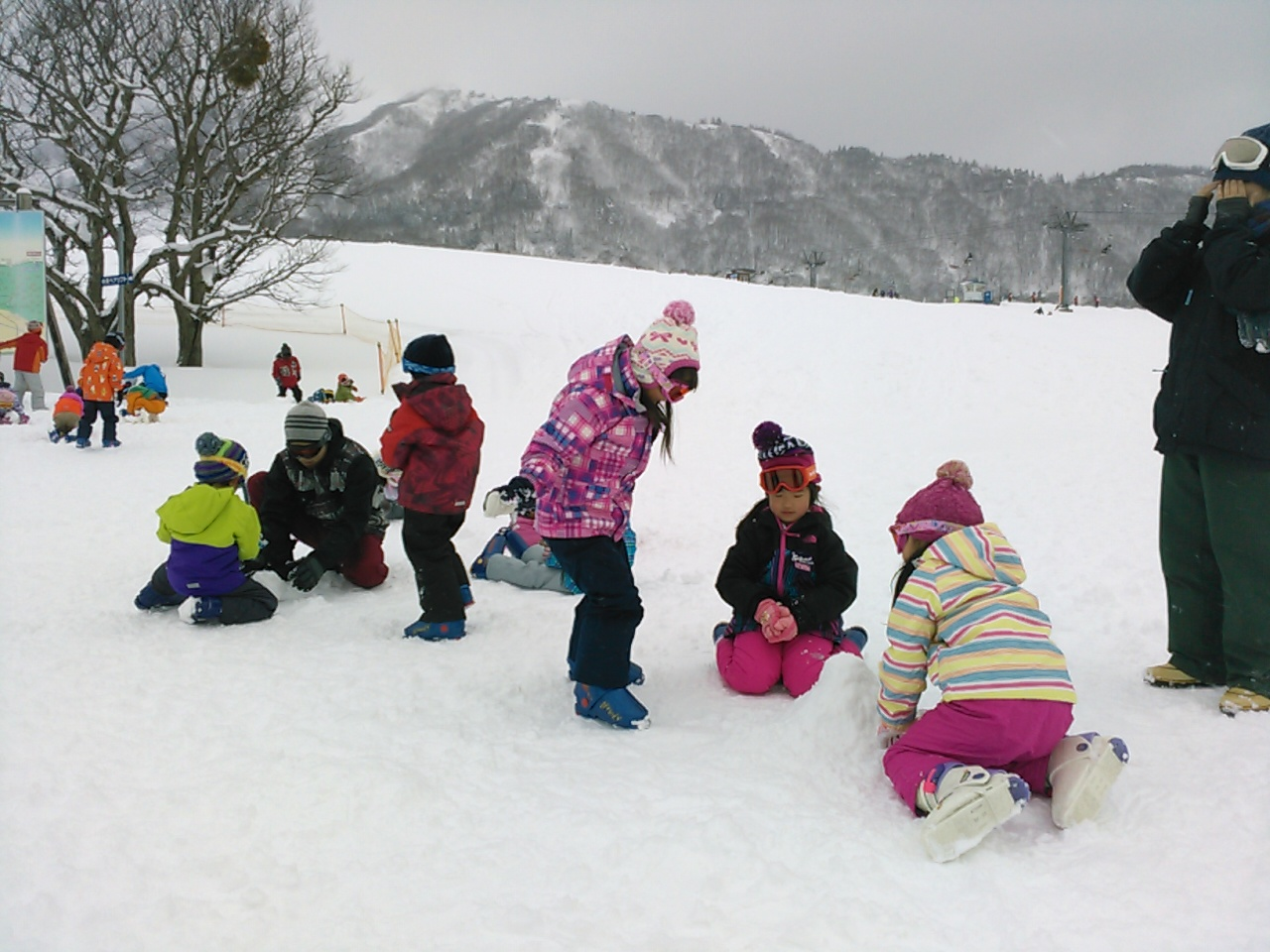 スキーキャンプ3日目・レッスン6