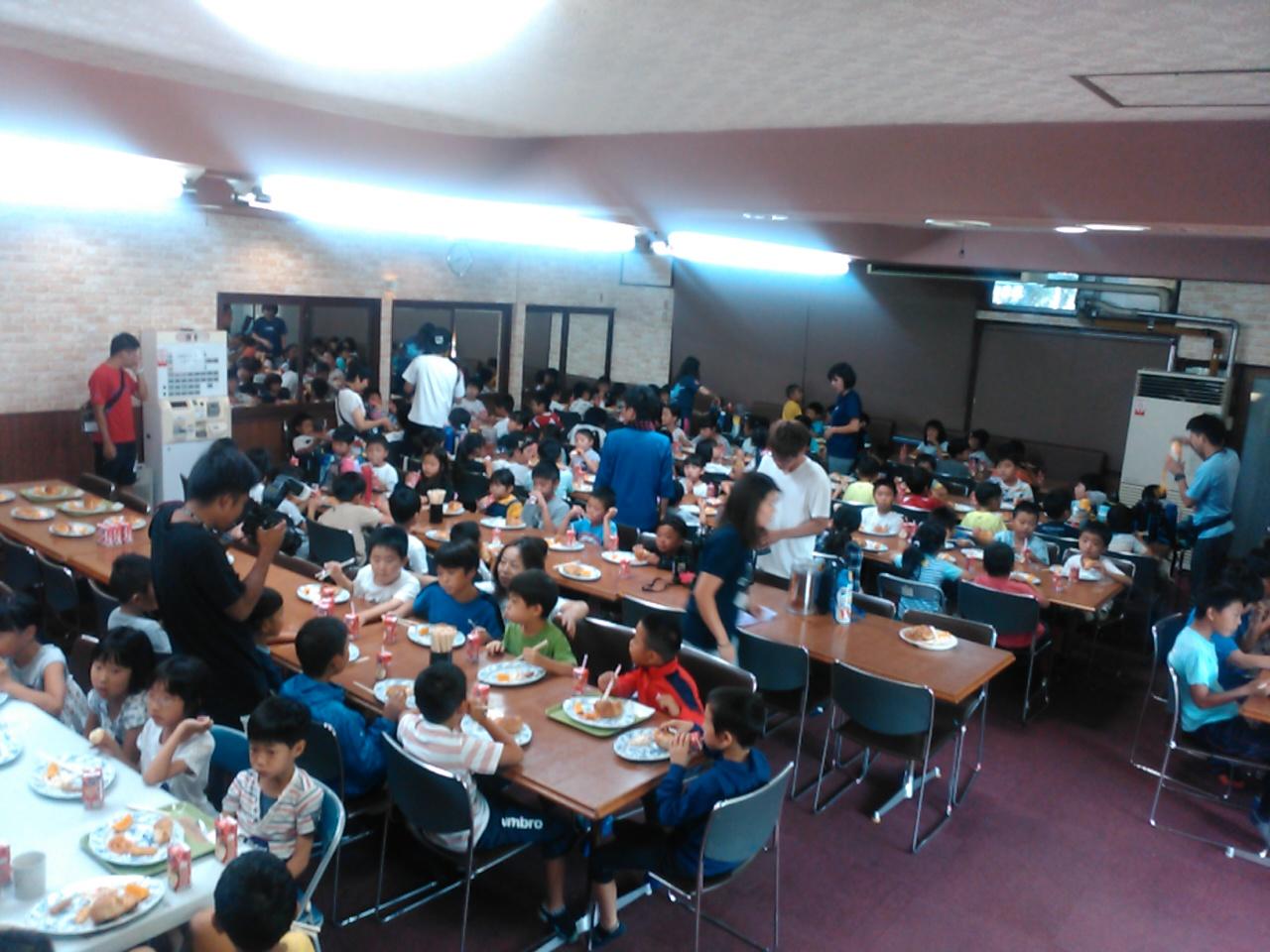 サマーキャンプ2日目・朝食2