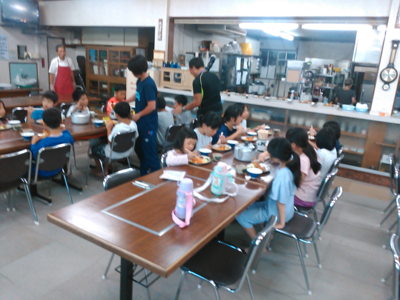 サマーキャンプ2日目・夕食1