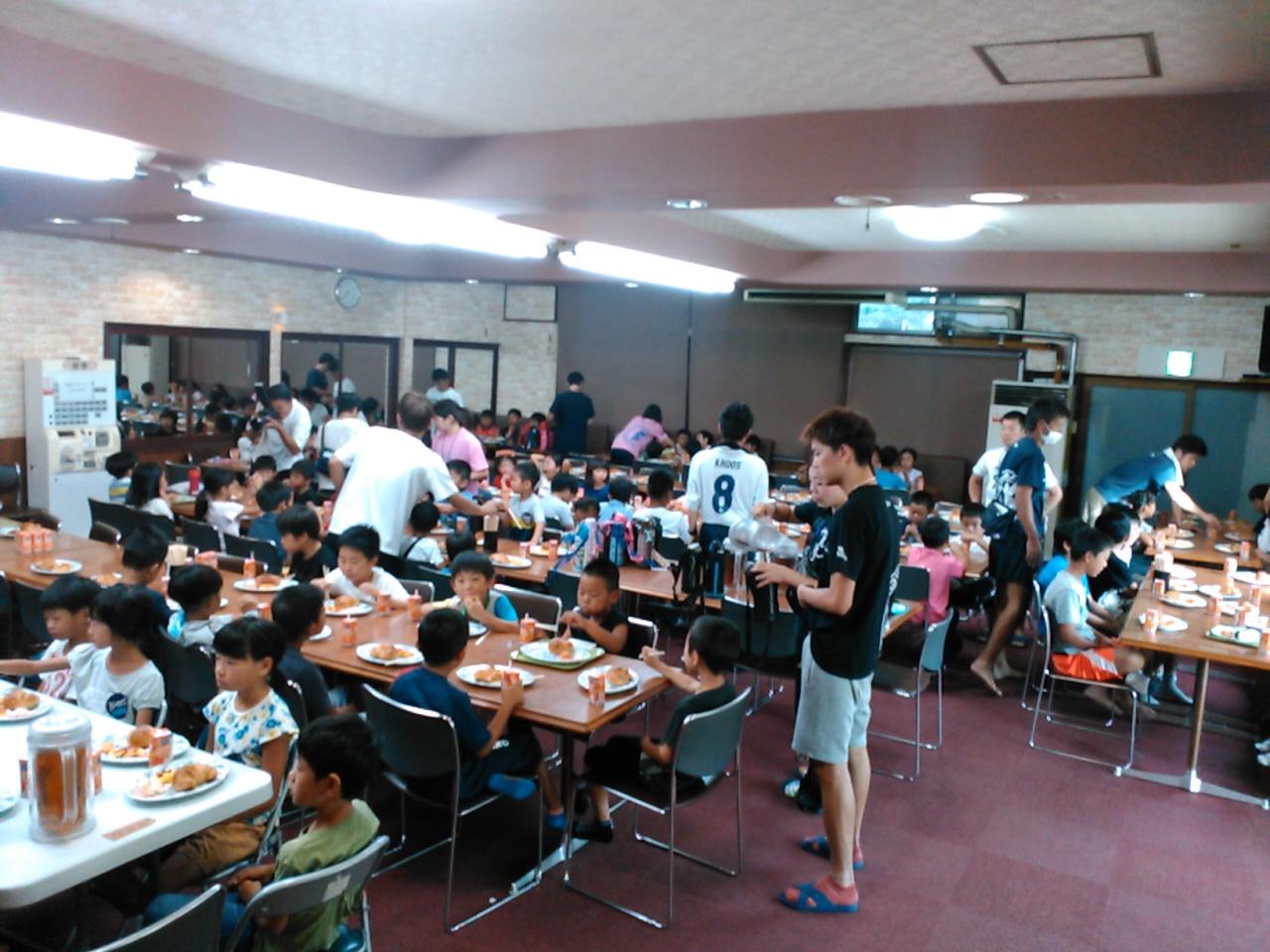 サマーキャンプ3日目・朝食1