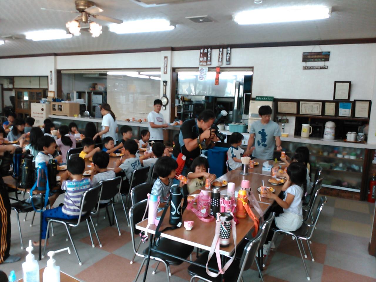 サマーキャンプ3日目・朝食2