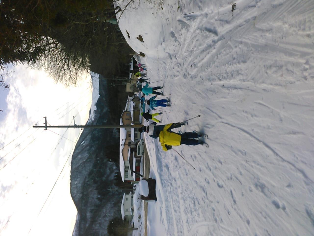 スキーキャンプ1日目・レッスン9