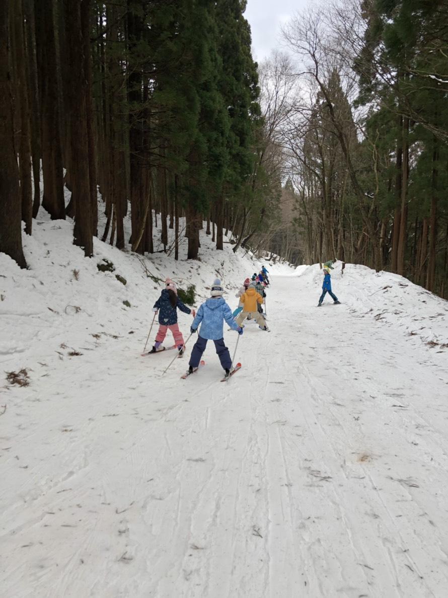 スキーキャンプ2日目・午後レッスン5