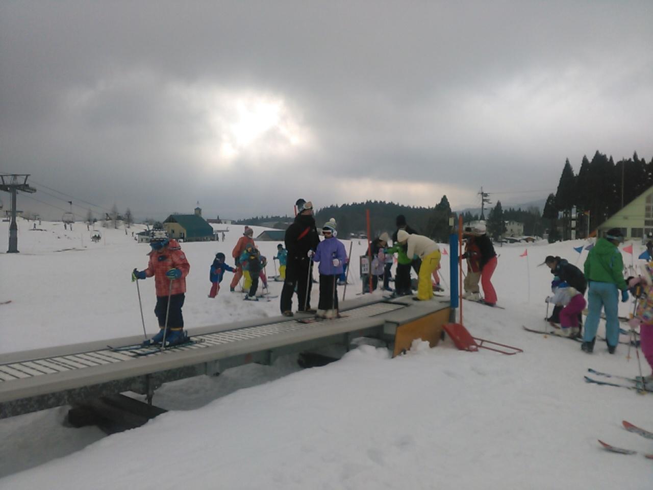 スキーキャンプ2日目・レッスン5