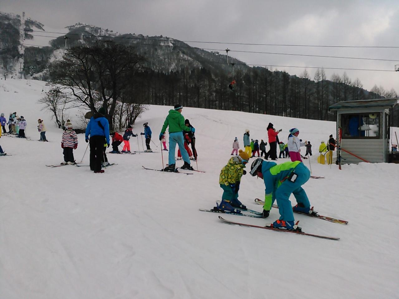 スキーキャンプ2日目・午後レッスン7