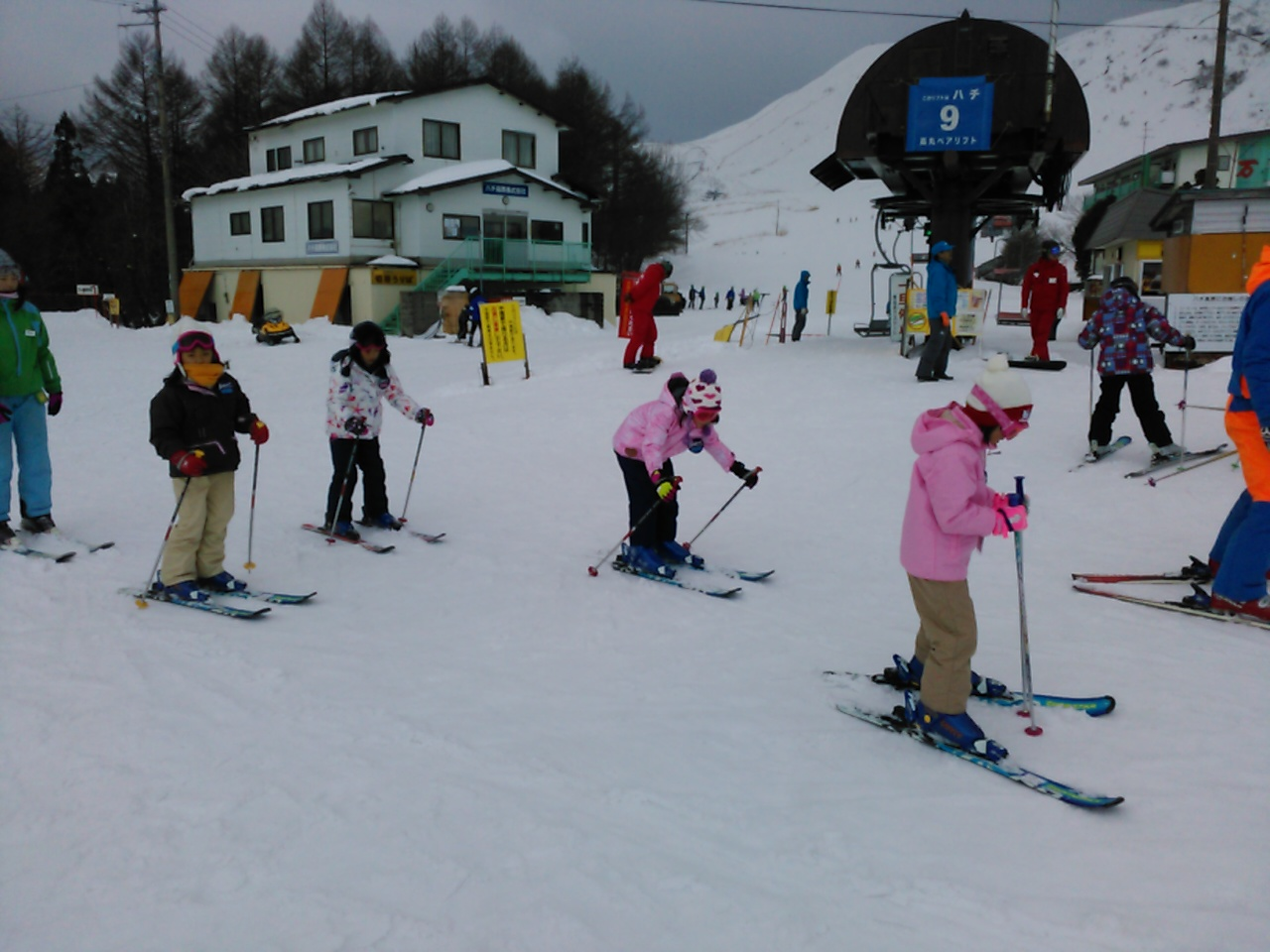 スキーキャンプ2日目・午後レッスン9