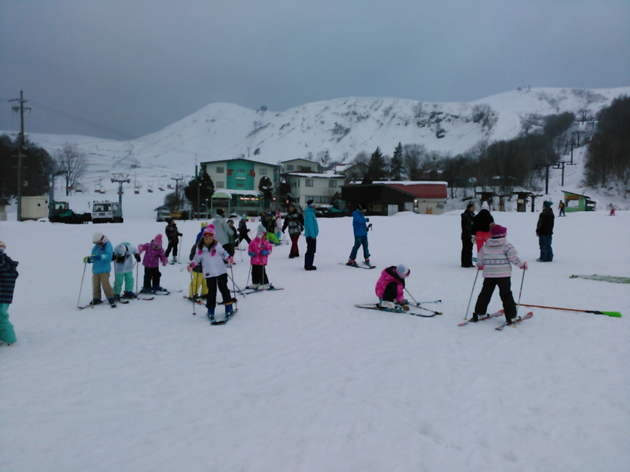 スキーキャンプ2日目・午後レッスン10