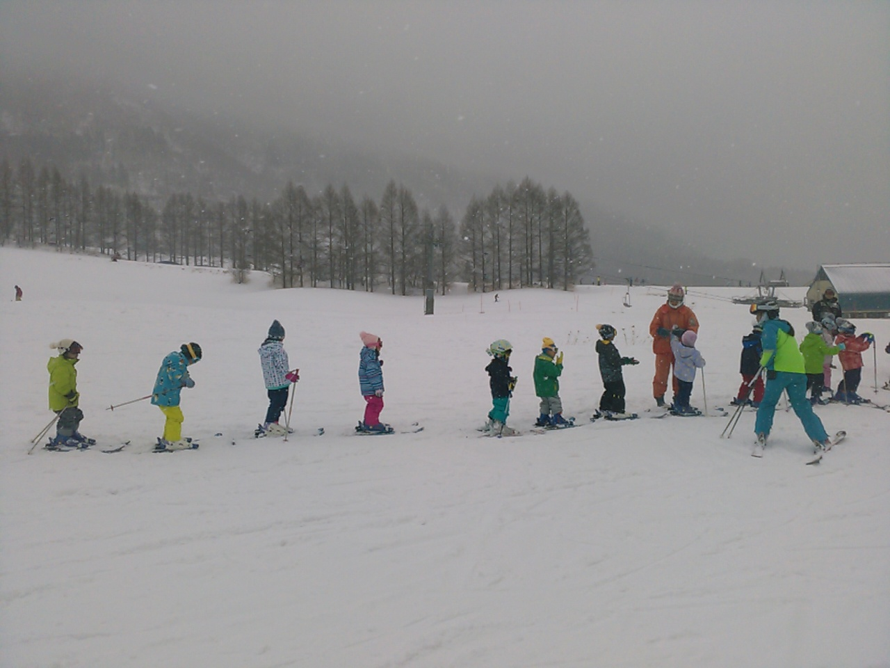 スキーキャンプ3日目・レッスン10